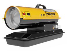 Master Diesel Fired Portable Heater - B70CED