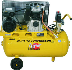 Air Command 2HP Dairy Compressor D12C