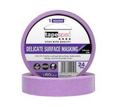 Delicate Surface Purple Washi Painters Tape
