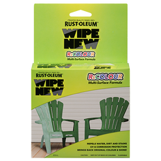 Wipe New ReColour - Restores Colour And Shine To Weathered Surfaces
