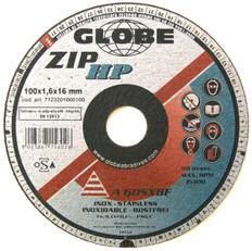 Globe Superzip Thin Inox A 60 SX 100 x 1.6 x 16