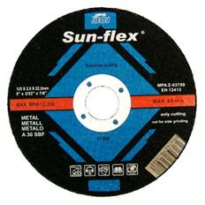 Sun-Flex Reinforced Metal Cutting Discs