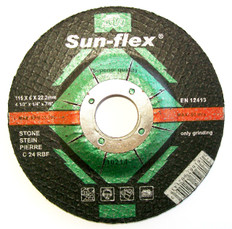 Sun-Flex Reinforced Depressed Centre Masonry Grinding Wheel