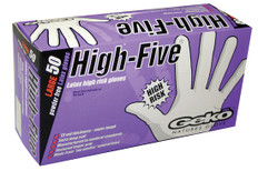 Disposable High-Risk Extended Cuff Latex Gloves