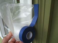Cover Quick Premium Cloth Pre Taped Masking Film Promo