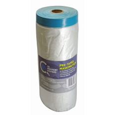 Cover Quick Premium Cloth Pre Taped Masking Film