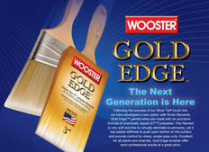 Wooster Gold Edge Paint Brush