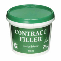 PAL professional contract filler is a single pack , quick drying, water based filler suitable for interior and exterior application.