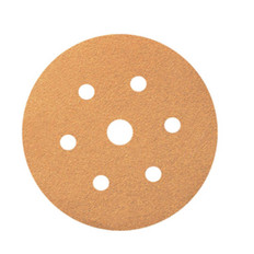 100 Pack, Smirdex Powerline 820 Velcro Discs 150mm 6+1 Hole