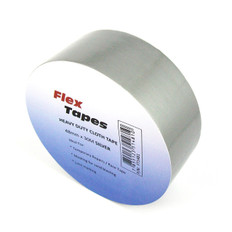 Flex Premium Heavy Duty Cloth Tape, Silver