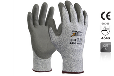 RAZOR X500 Glove, HPPE Cut Resistance Level 5, Fibre PU coating