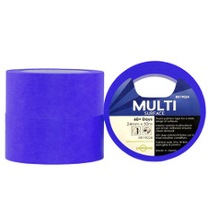 Multi Surface Blue Washi Painters Tape 24mm X 50m