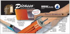 Oval Straight Cut Long Handled Sash Paint Brush Brochure
