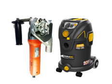 Paintshaver Pro and Duravac L Class Vacuum Package