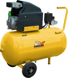 Air Command 2.5HP Direct Drive Compressor - 50L Tank, AC10i