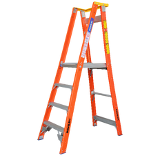 Pro Series Fibreglass Platform/Podium Ladder