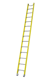 Pro Series Heavy Duty Industrial Fibreglass Single Ladder