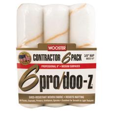 Wooster Pro Doo-Z Roller Contractors 6 Pack - 230 x 10mm