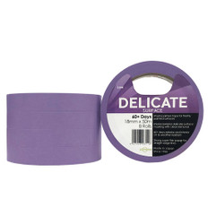 Delicate Surface Purple Washi Painters Tape