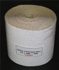 Riken White Zinc Sterate Coated Anti Clog Sanding Rolls
