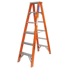 Tradesman Industrial Double Sided Fibreglass Step Ladder
