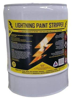 20lt Lightning Paint Stripper