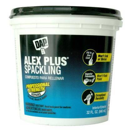 Alex Plus Spackling, 946ml Tub
