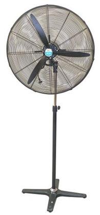 750mm Industrial Pedestal Mounted Oscillating Circulation Fan