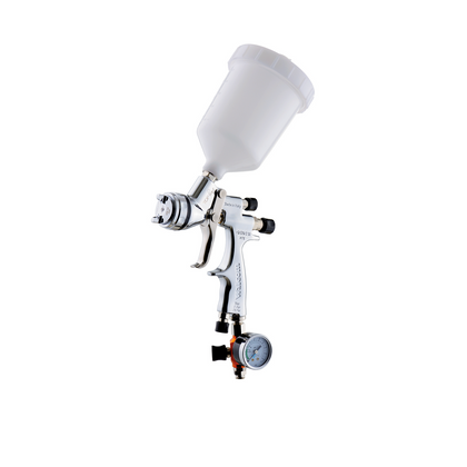 Walcom Genesi HTE Gravity Spray Gun and Cup