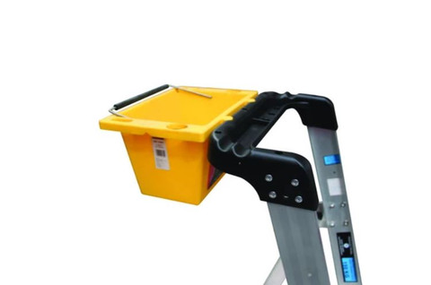 Handy Plastic Tool Bucket for Easy Access Trade Series Platform Ladders