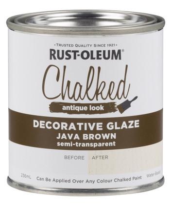 Rust-Oleum Chalked Decorative Glaze Java