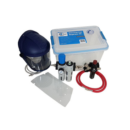 AMX Mistral Air Fed Respirator - Quality Breathing Air Complete Kit