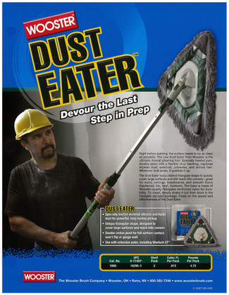 Wooster Dust Eater Brochure