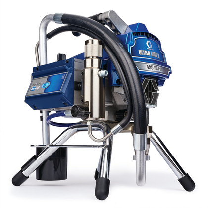 Graco Ultra Max II 495 PC Pro Skid - Lightweight, Powerful, Unmatched Reliability