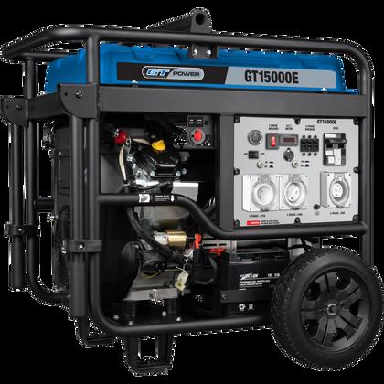 GT Power 115000W  Push Button Electric Start Generator, GT15000E