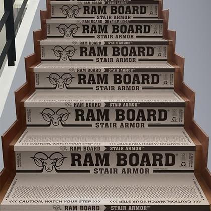 Ram Board Stair Armour - Heavy Duty Stair Protection