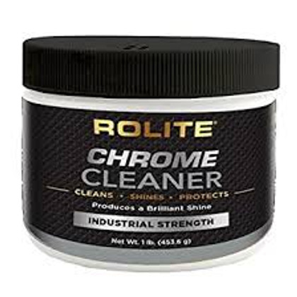 Rolite Chrome Cleaner 1 Pound Jar