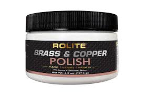 Rolite Brass & Copper Polish 4.5 oz