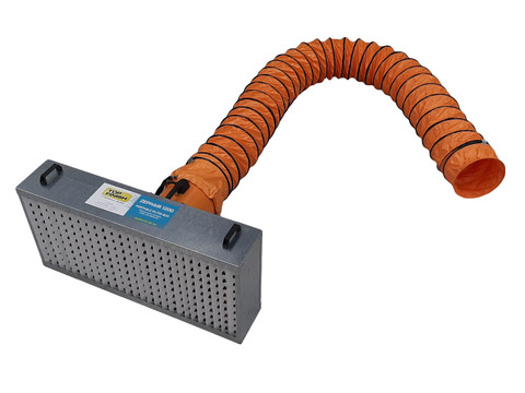 Complete Portable Overspray Ventilation System - Filter Box - Fan - Ducting