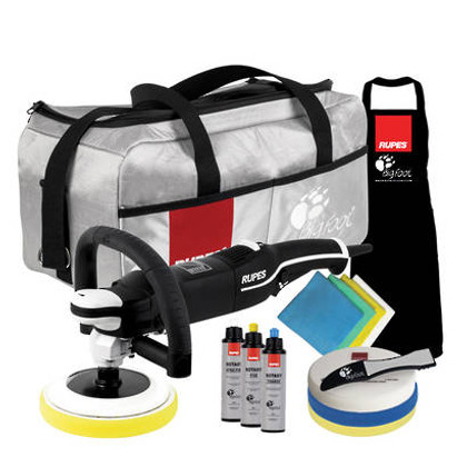RUPES BigFoot LH 19E Professional Rotary Polisher Deluxe Kit