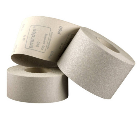Smirdex Velcro Backed Sandpaper Rolls 116mm x 25m