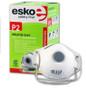 Esko Breathe Easy Disposable Valved Dust / Mist Respirator Masks P2 Rated 12pk