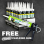 DAP Alex Painters Promo with FREE Pro Caulking Gun