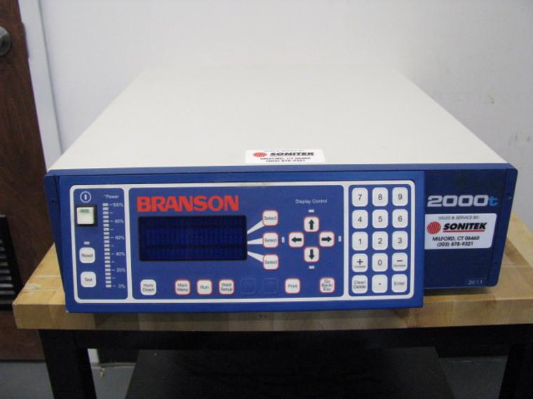 Branson 2000t