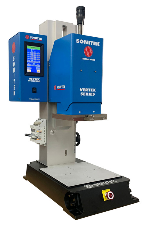 NEW! VERTEX Series - Most Advanced Self-Calibrating Heat Staking System