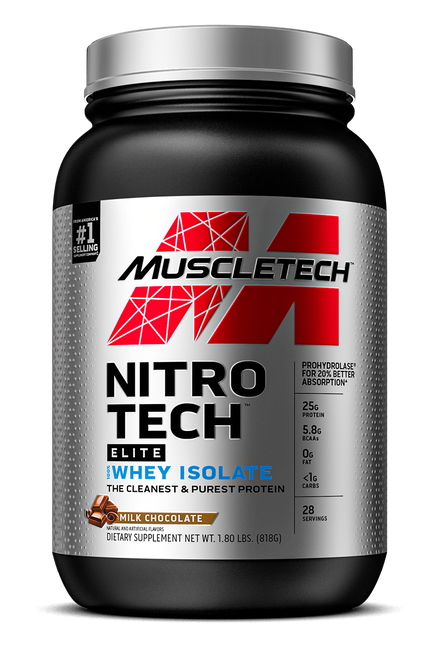 Nitro-Tech Elite 100% Whey Isolate