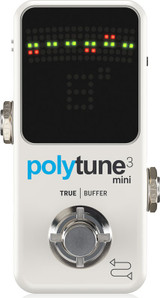 TC Electronic Polytune 3 Mini Tuner (POLYTUNE 3 Mini) - ToneLounge NZ