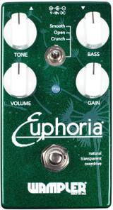 Wampler Euphoria ~ Natural Transparant Overdrive Pedal