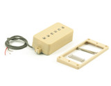 P90 Convertible Pickup ~ Humbucker Retro Fit Cream WPU900IV-P Tone Lounge NZ