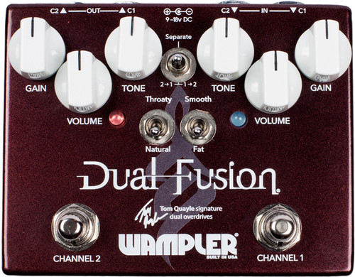 Tom Quayle Dual Fusion Overdrive